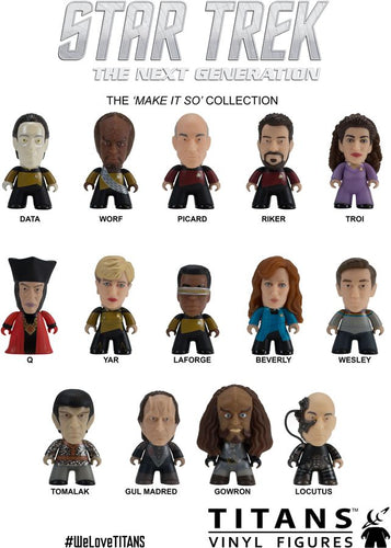Star Trek: The Next Generation - Make It So Titans Blind Box - Ozzie Collectables
