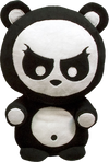 "Angry Panda - 10"" Plush - Ozzie Collectables"