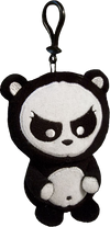 Angry Panda - Clip-on Plush - Ozzie Collectables
