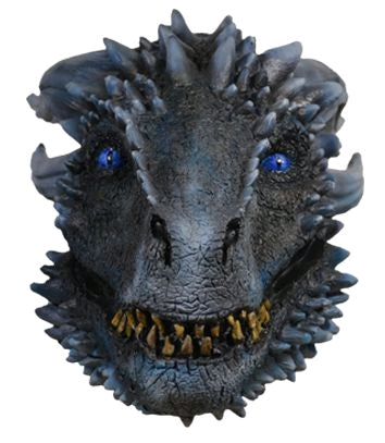 Game of Thrones - White Walker Dragon Mask s07 - Ozzie Collectables