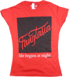 True Blood - Fangtasia Red Female T-Shirt S - Ozzie Collectables