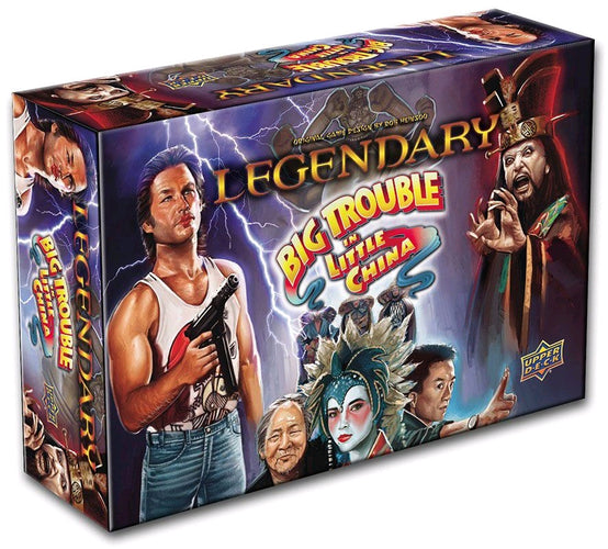 Big Trouble in Little China - Legendary Deck-Building Game - Ozzie Collectables