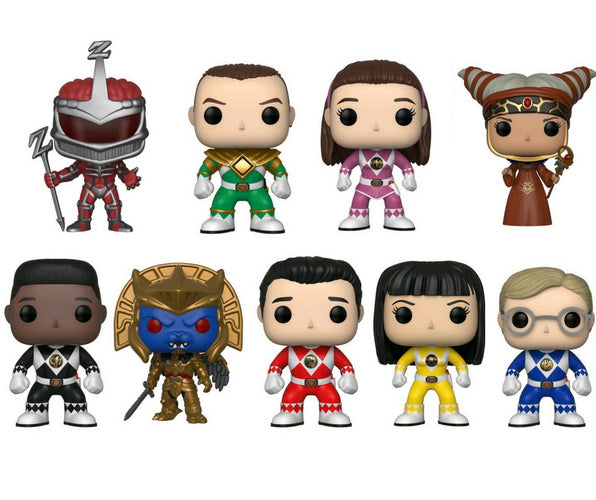 Power Rangers Bundle - 9 POP! Vinyls - Ozzie Collectables