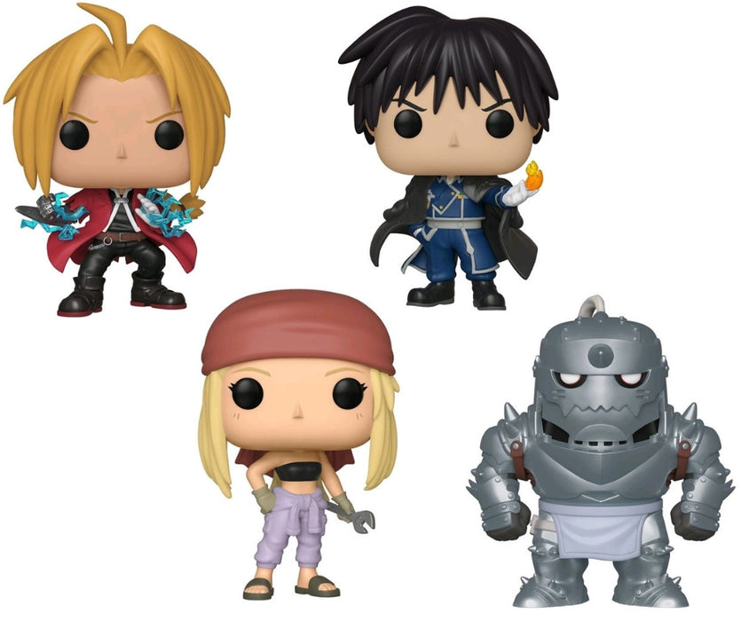Fullmetal Alchemist Bundle - 4 POP! Vinyls