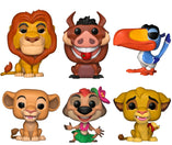 Lion King Bundle - 6 POP! Vinyls