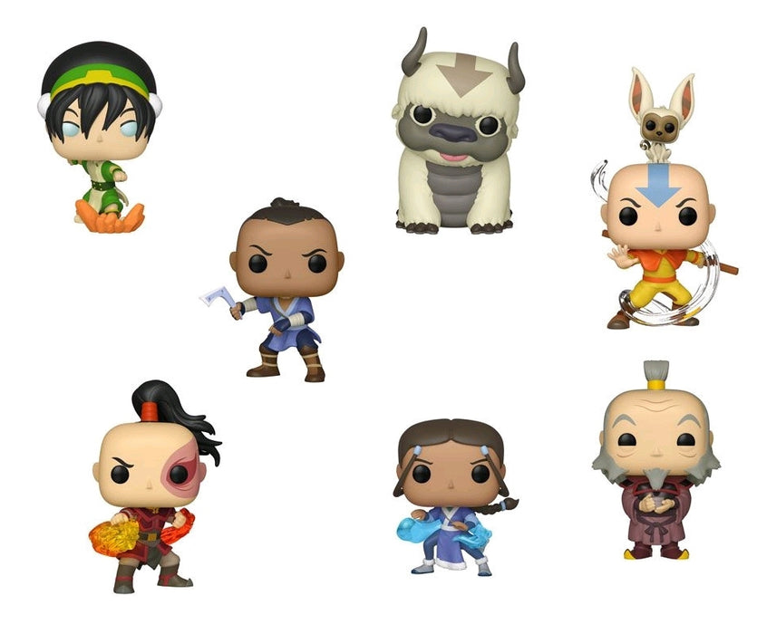Avatar The Last Airbender Bundle - 7 POP! Vinyls