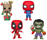 Marvel Holiday Bundle - 4 POP! Vinyls