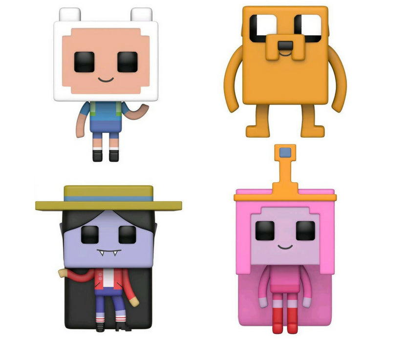 Adventure Time x Minecraft Bundle - 4 POP! Vinyls