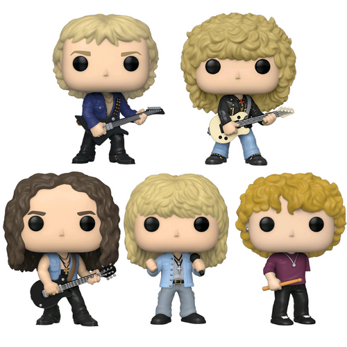 Def Leppard Bundle - 5 POP! Vinyls - Ozzie Collectables