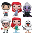 The Little Mermaid Bundle - 6 POP! Vinyls