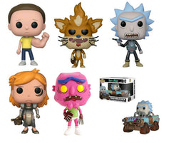 Rick and Morty S3 Bundle - 5 POP! Vinyls and 1 POP! Ride