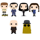 Addams Family Bundle - 6 POP! Vinyls