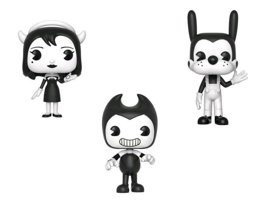 Bendy and the Ink Machine S1 Bundle - 3 US Exclusive POP! Vinyls [RS] - Ozzie Collectables