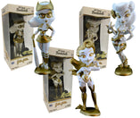 "DC Bombshells SDCC 2018 Exclusive Golden Goddess Bundle - 3 7"" Vinyl Figures"