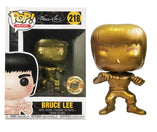 Enter the Dragon - Bruce Lee Gold US Summer Convention Exclusive Bait Stickered POP! Vinyl