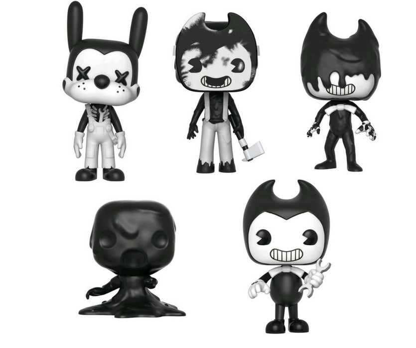 Bendy and the Ink Machine S2 Bundle - 5 POP! Vinyls - Ozzie Collectables