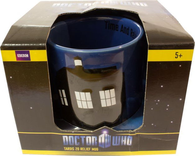 Doctor Who - TARDIS 2D Relief Mug - Ozzie Collectables
