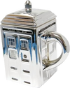 Doctor Who - TARDIS Mug with Lid (Silver) - Ozzie Collectables