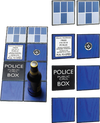 Doctor Who - TARDIS Ceramic Coasters Gift Set - Ozzie Collectables