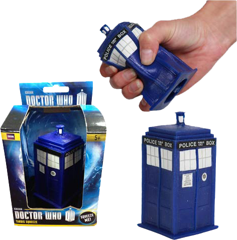 Doctor Who - TARDIS Stress Toy - Ozzie Collectables