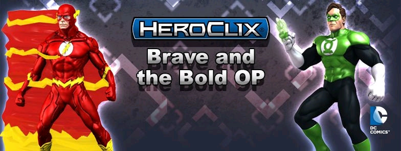Heroclix - DC Brave and the Bold OP Kit - Ozzie Collectables
