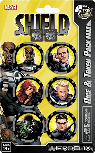 Heroclix - Nick Fury Agent of SHIELD Dice & Token Pack - Ozzie Collectables