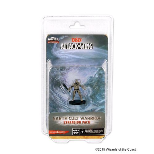 Dungeons & Dragons - Attack Wing Wave 7 Earth Cult Warrior Expansion Pack - Ozzie Collectables