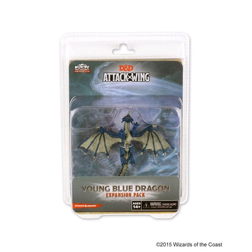 Dungeons & Dragons - Attack Wing Wave 7 Blue Dragon Expansion Pack - Ozzie Collectables