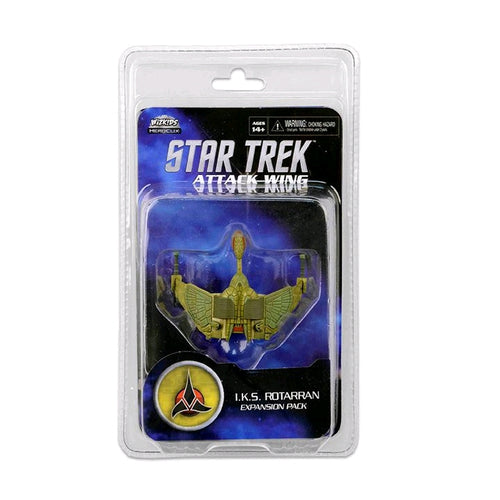 Star Trek - Attack Wing Wave 19 IKS Rotarran Expansion Pack - Ozzie Collectables