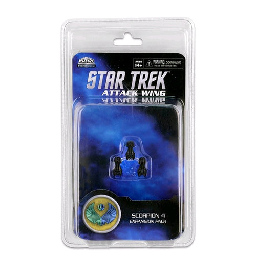 Star Trek - Attack Wing Wave 20 Scorpion 4 Expansion Pack - Ozzie Collectables