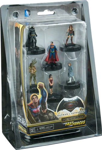 Heroclix - Batman v Superman: Dawn of Justice Movie Fast Forces 6 pack - Ozzie Collectables