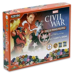Dice Masters - Marvel Civil War Collector's Box - Ozzie Collectables