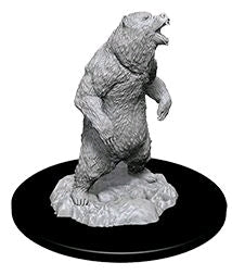 Wizkids - Deep Cuts Unpainted Miniatures: Grizzly - Ozzie Collectables
