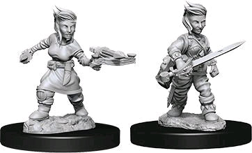 Pathfinder - Deep Cuts Unpainted Female Halfling Rogue - Ozzie Collectables