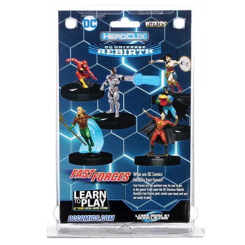 Heroclix - DC Rebirth Fast Forces 6-pack - Ozzie Collectables