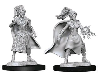 Dungeons & Dragons - Nolzur's Marvelous Unpainted Minis: Female Human Sorcerer - Ozzie Collectables