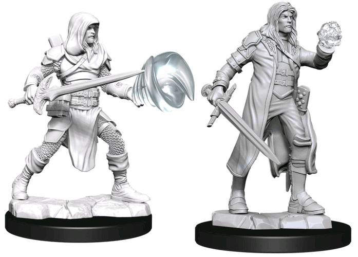 Dungeons & Dragons - Nolzur's Marvelous Unpainted Minis: Multiclass Fighter Wizard Male
