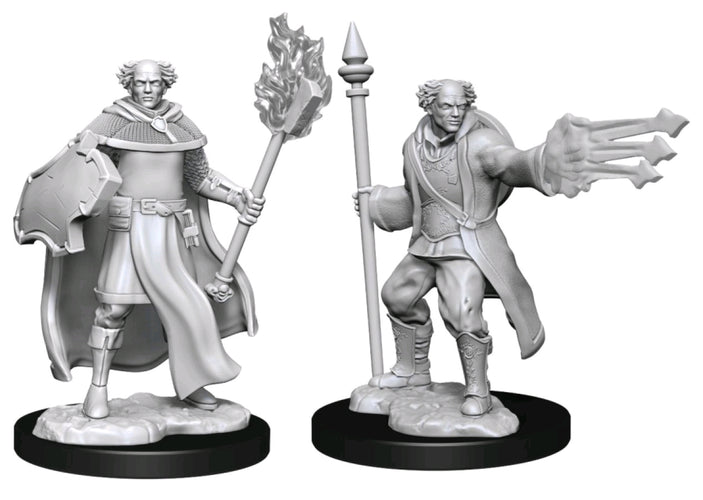 Dungeons & Dragons - Nolzur's Marvelous Unpainted Minis: Multiclass Cleric Wizard Male