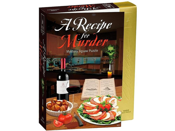 Murder Mystery Jigsaw Puzzles A Recipe for Murder