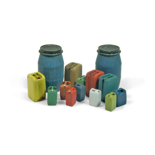 Vallejo Assorted Modern Plastic Drums 2 Diorama Accessory - Ozzie Collectables