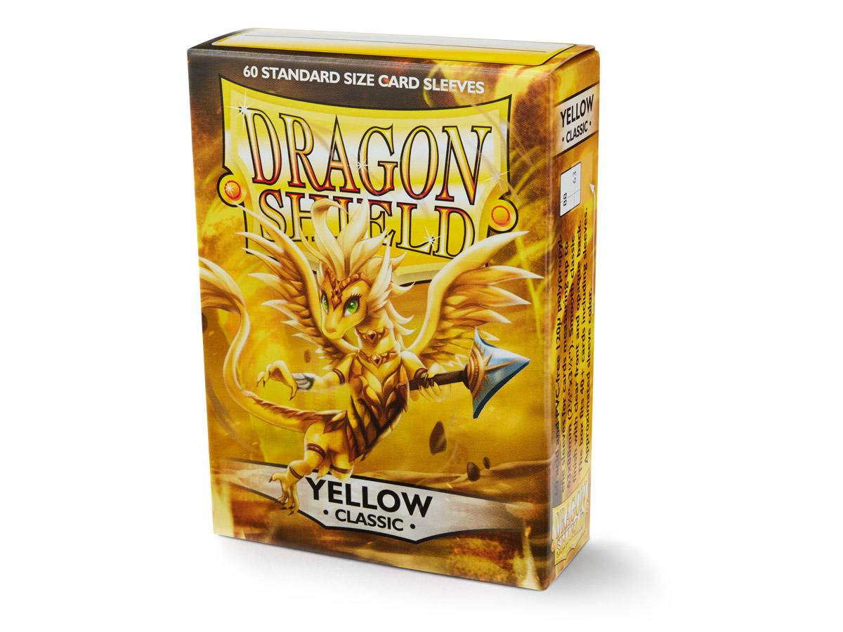 Sleeves - Dragon Shield - DS60 Classic Yellow - Ozzie Collectables