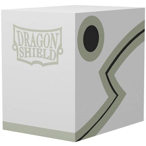 Deck Box Dragon Shield Double Shell - White/Black