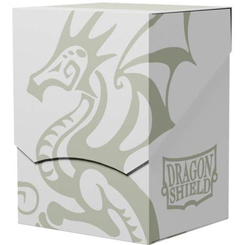 Deck Box Dragon Shield Deck Shell White/Black