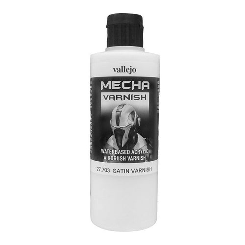 Vallejo Mecha Colour Satin Varnish 200ml - Ozzie Collectables