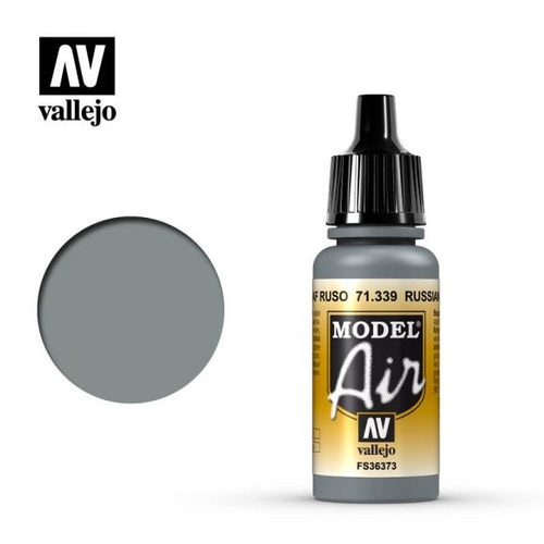Vallejo Model Air Russian AF Grey N3 17ml Acrylic Paint - Ozzie Collectables