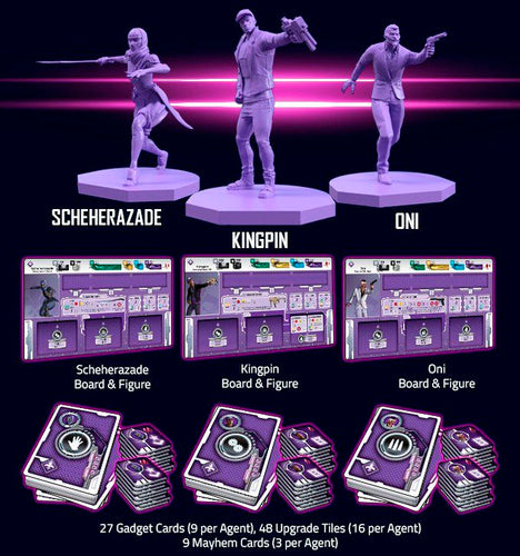 Agents of Mayhem Firing Squad Expansion - Ozzie Collectables