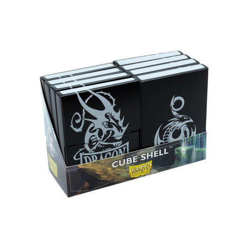 Deck Box Dragon Shield Cube Shell - Black - Ozzie Collectables