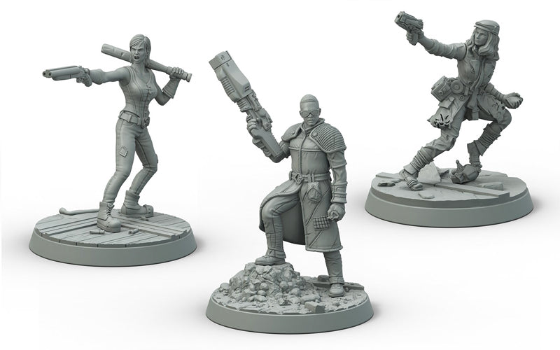 Fallout Wasteland Warfare Survivors Boston Companions - Ozzie Collectables