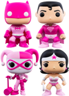 Breast Cancer Awareness Bundle - 4 POP! Vinyls - Ozzie Collectables