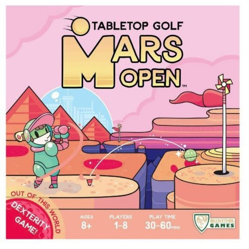 Mars Open Tabletop Golf Boxed Dexterity Game